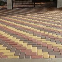 Тротуарная плитка кирпичик в омске